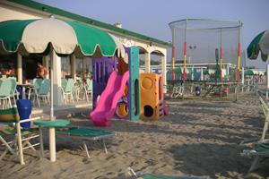 Stabilimento balneare bagno riva verde punta marina ravenna