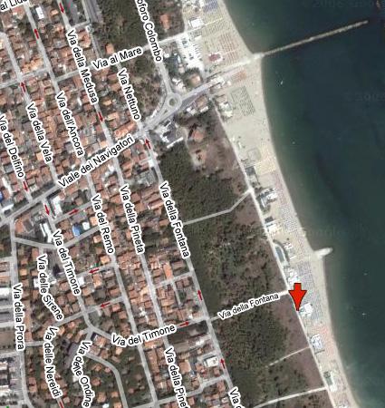 Stabilimento balneare bagno riva verde punta marina dove siamo - Bagno bologna punta marina ...